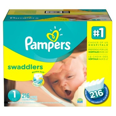 size 1 pampers