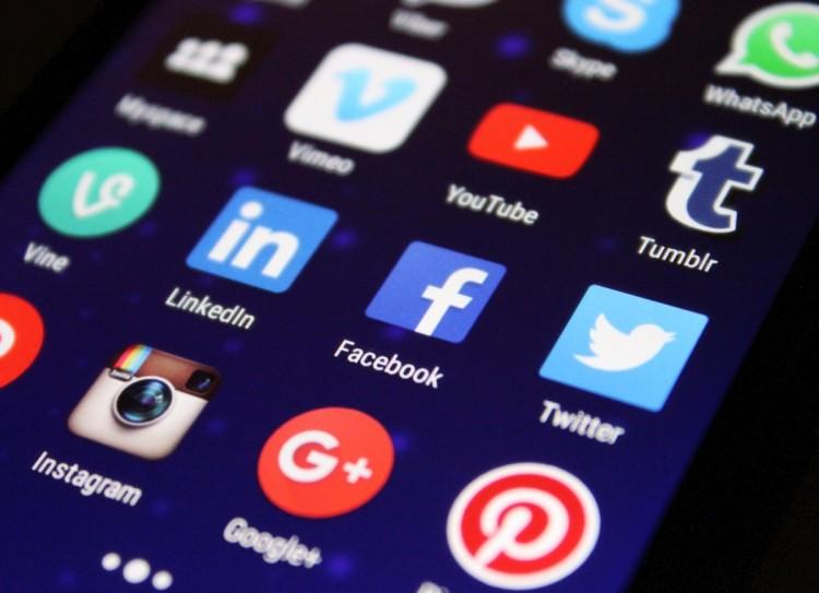 tumblr, facebook, instagram, youtube, venmo, pinterest, Google+ icons image